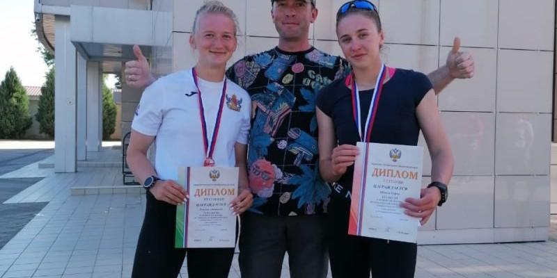 София Штиль стала победительницей первенства России до 19 лет, Анастасия Лухнёва — бронзовым призёром