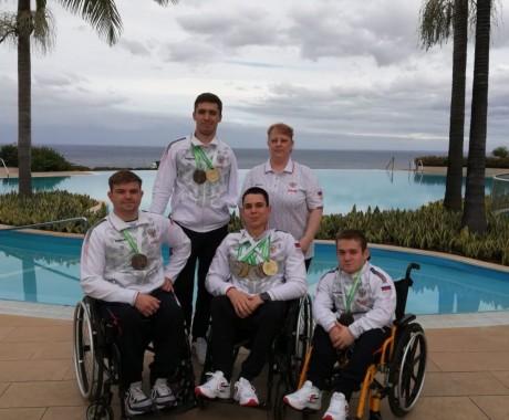Представители Алтайского края в составе сборной России завоевали 10 медалей различного достоинства на чемпионате Европы по плаванию под эгидой Международного паралимпийского комитета