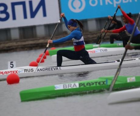 Ирина Андреева выиграла бронзовую медаль барнаульского этапа Кубка мира в каноэ-одиночке на дистанции 200 метров