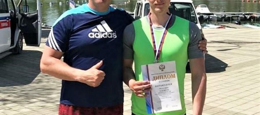 Каноист Артём Пискун стал серебряным призером юниорского первенства России
