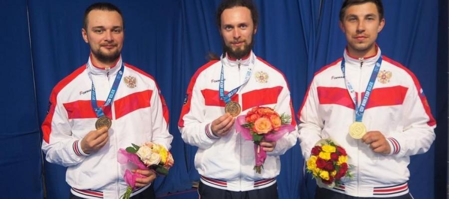 Бийчанин Сергей Каменский в составе российского трио стал обладателем Кубка мира