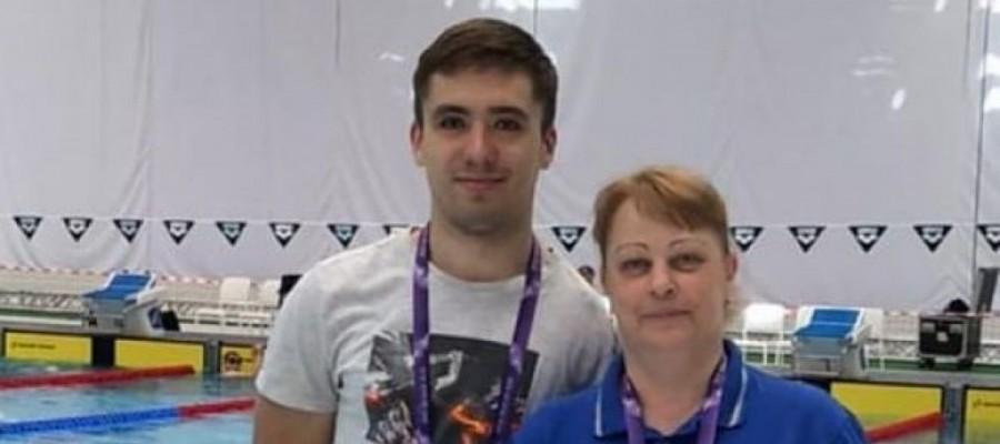 Бийчанин Егор Ефросинин выступил на этапе Кубка мира по плаванию среди спортсменов с ПОДА
