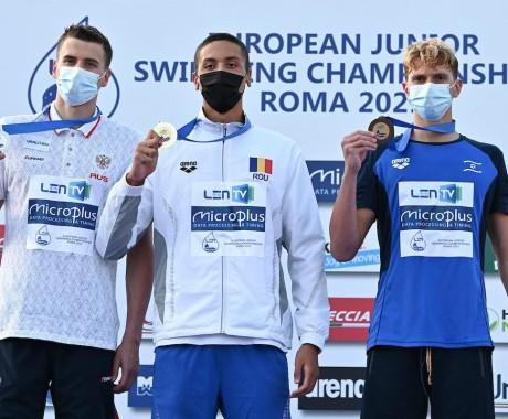 Барнаулец Никита Черноусов стал серебряным призером юниорского первенства Европы на дистанции 50 м вольным стилем