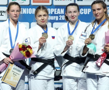 Дарья Храмойкина — бронзовый призёр Кубка Европы