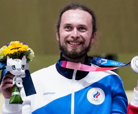 Бийчанин Сергей Каменский стал серебряным призером Олимпиады в стрельбе из малокалиберной винтовки с трех положений