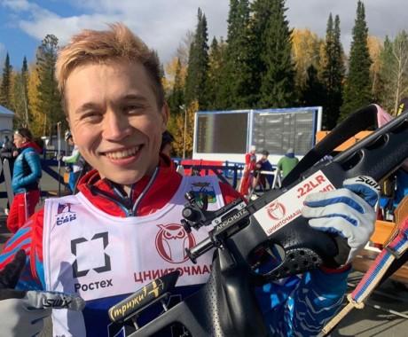 Даниил Серохвостов завоевал серебро в спринте на чемпионате России